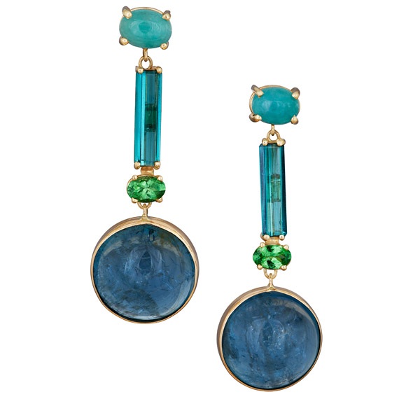 Alexis Barbeau Ocean Blue earrings