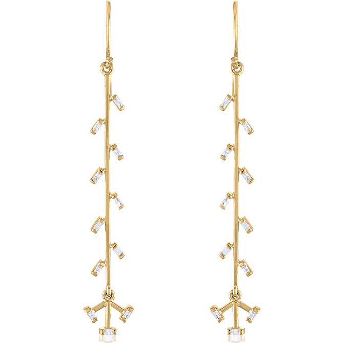 Loriann Jewelry Confetti Linear earrings
