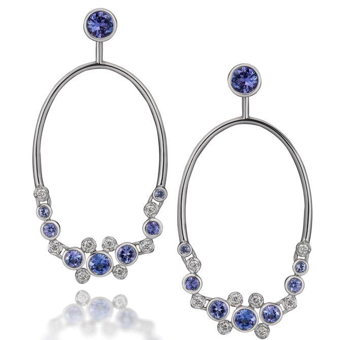 Martha Seely Constellation earring jackets