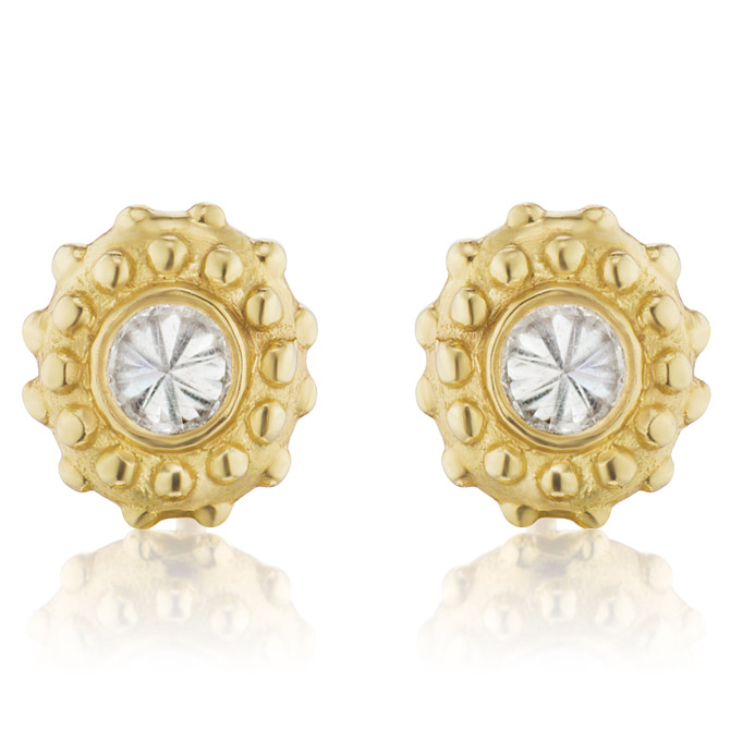 Ana Katarina Evolution diamond stud earrings