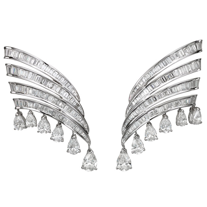Butani Urbana diamond earrings
