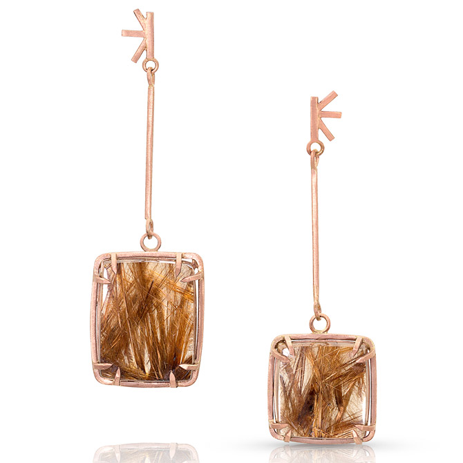 Enji Studio Garabina earrings