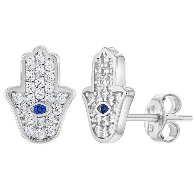 In Season Hamsa earrings