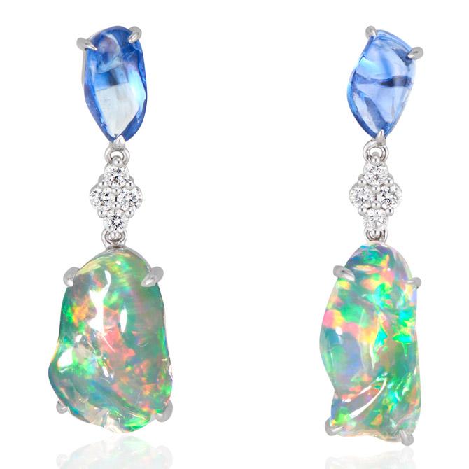 Ri Noor Ice Drops earrings