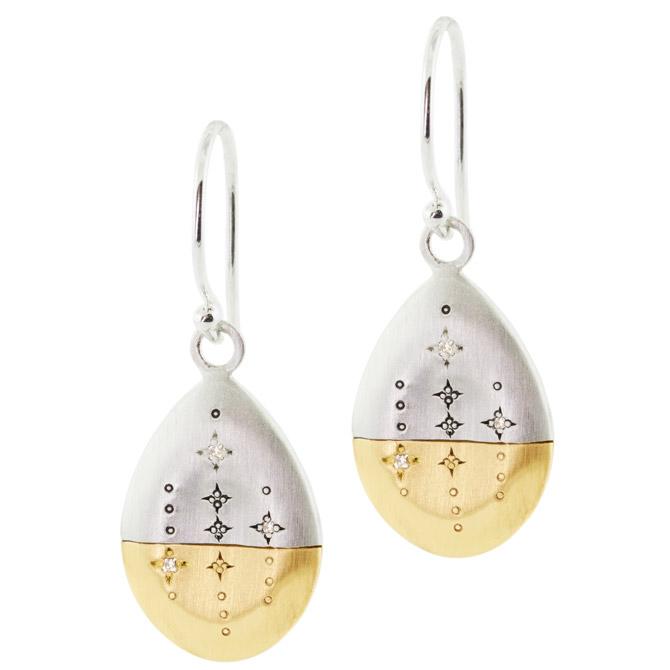 Adel Chefridi Horizon drop earrings