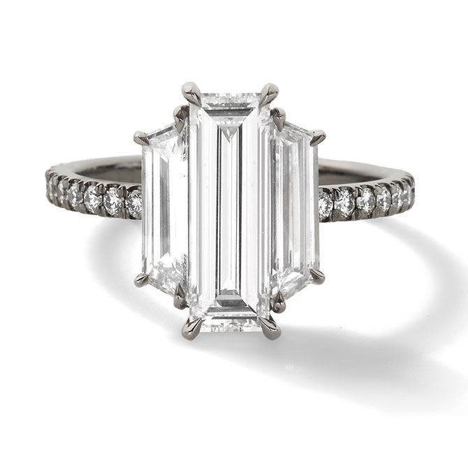 Eva Fehren 3 stone ring