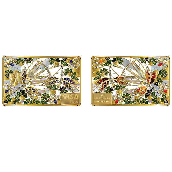 Insignia clover card