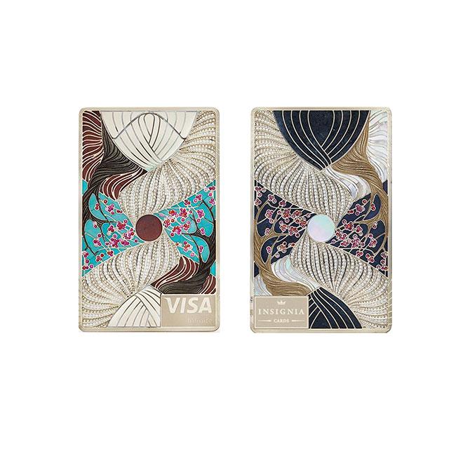 Insignia winter kimono card