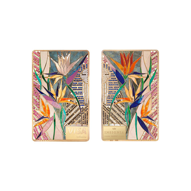 Isignia African Flower card