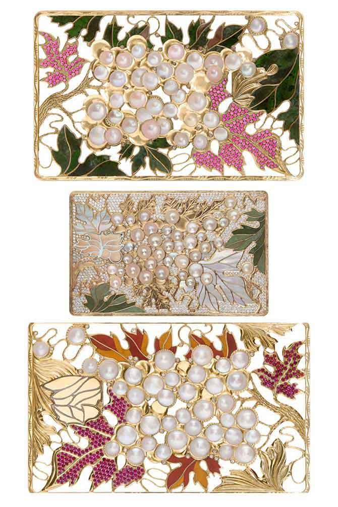 Insignia pearl designs