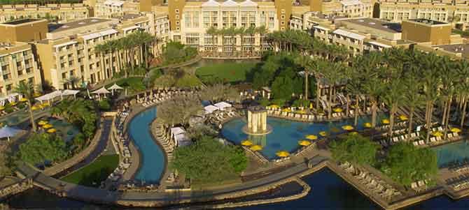 JW Marriott Phoenix Desert Ridge Resort & Spa aerial view