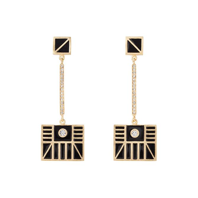 Met Erte Monte Carlo drop earrings