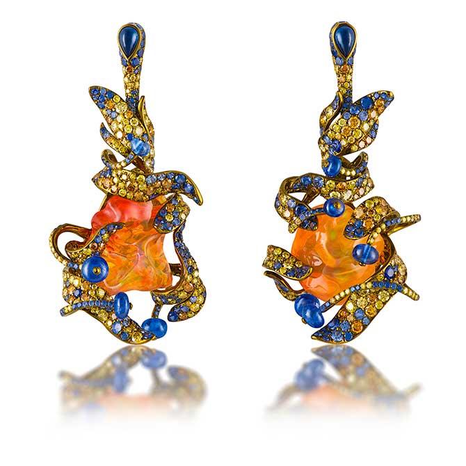 Neha Dani Arunima earrings