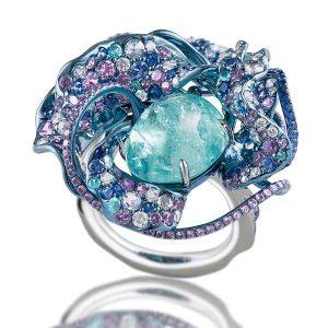 Neha Dani Nuray Moon ring