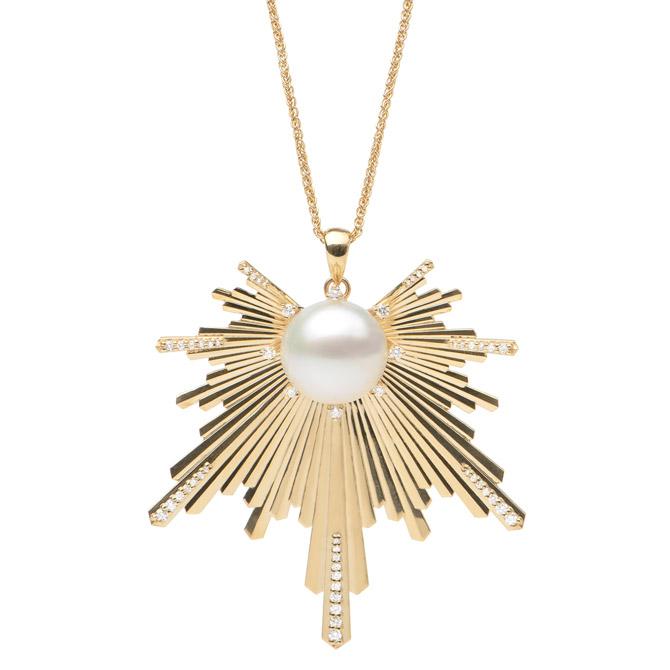 Maui Divers custom pearl pendant