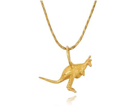 Pippa Small Kangaroo pendant