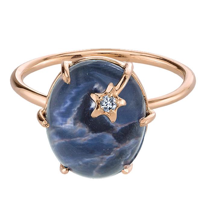 Andrea Fohrman Mini Galaxy pietersite ring