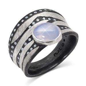Alishan star sapphire ring