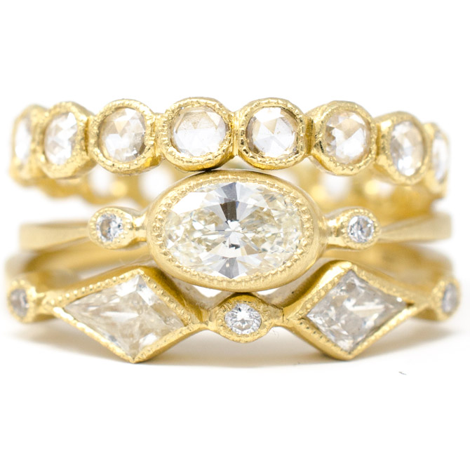Jennifer Dawes Dainty Diamonds collection