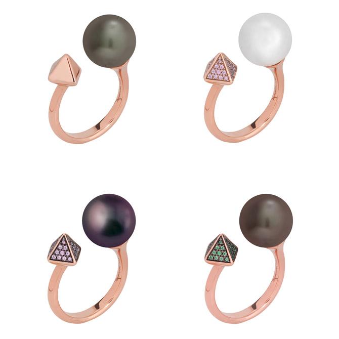 Alessandra Dona Friday Night rings
