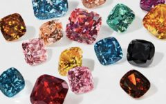 Swarovski colored diamonds