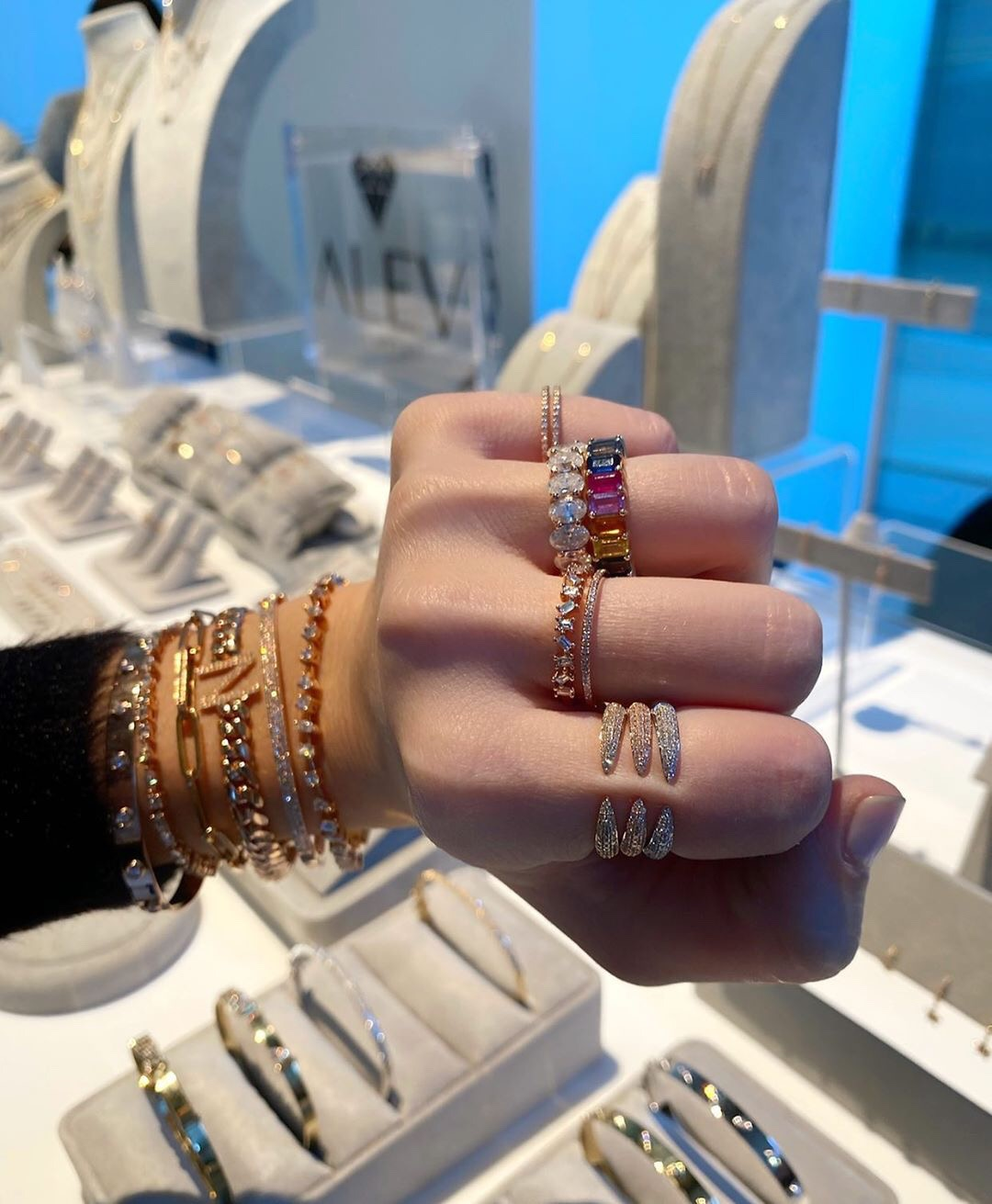 Alev Jewelry rings