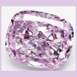 Alrosa pink purple diamond