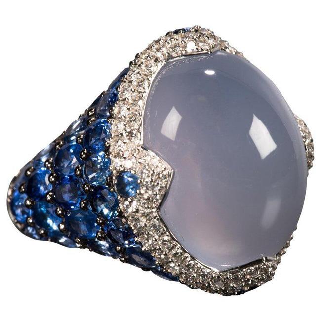 Asprey blue ring