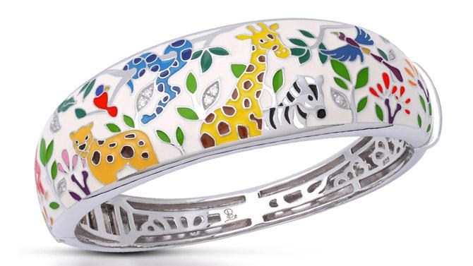 Belle Etoile Serengeti bracelet white