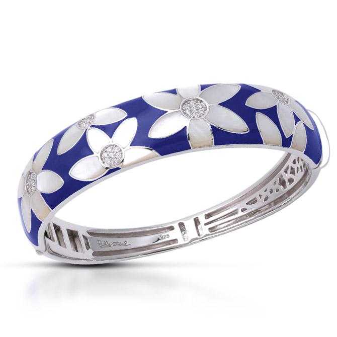 Belle Etoile blue Moonflower bracelet