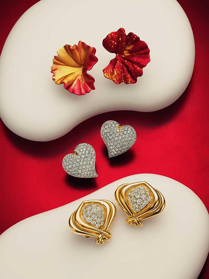 Christies earrings group