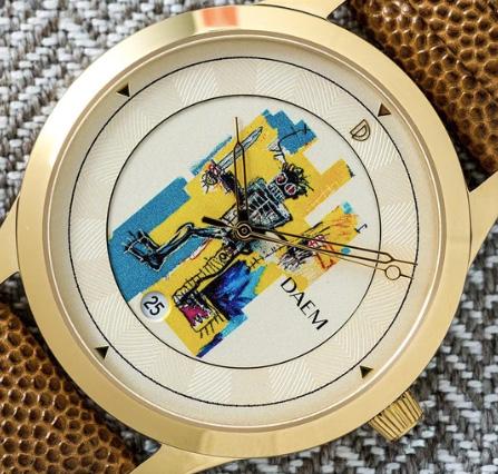 Daem Basquiat Warrior watch