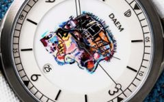 Daem Skull Basquiat watch