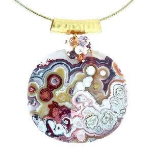 Dana Busch ocean jasper necklace