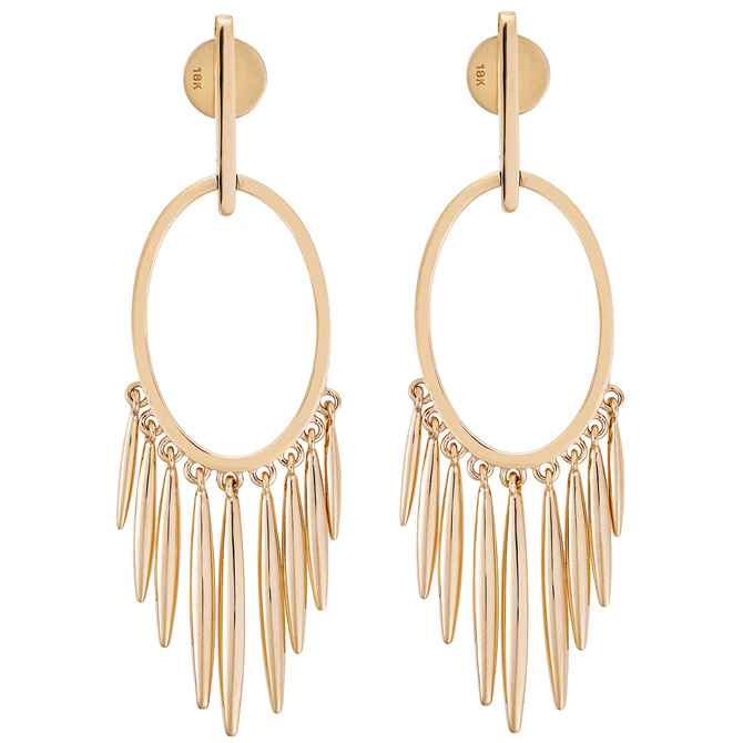 Ileana Makri Grass Sunset earrings