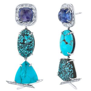 Emily P Wheeler Ocean earrings