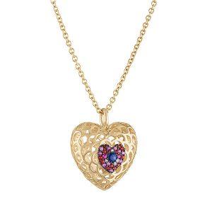 Gigi Feranti new heart pendant