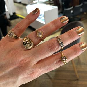Atelier Narce rings