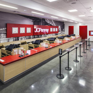 JC Penney checkout