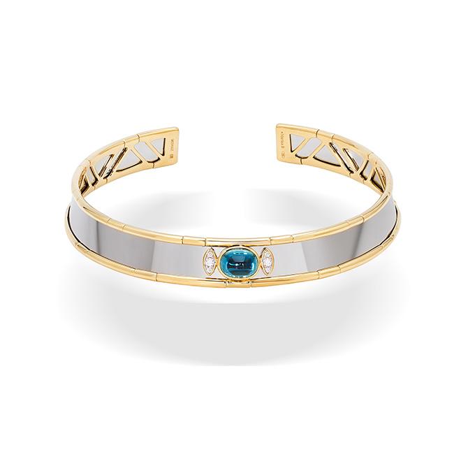 Marina B Simona Blue Zircon collar