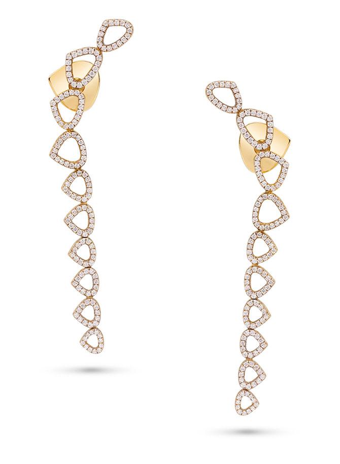 Marina B Trina long earrings