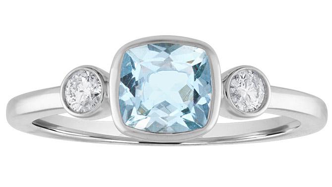 Incon Gems aquamarine ring