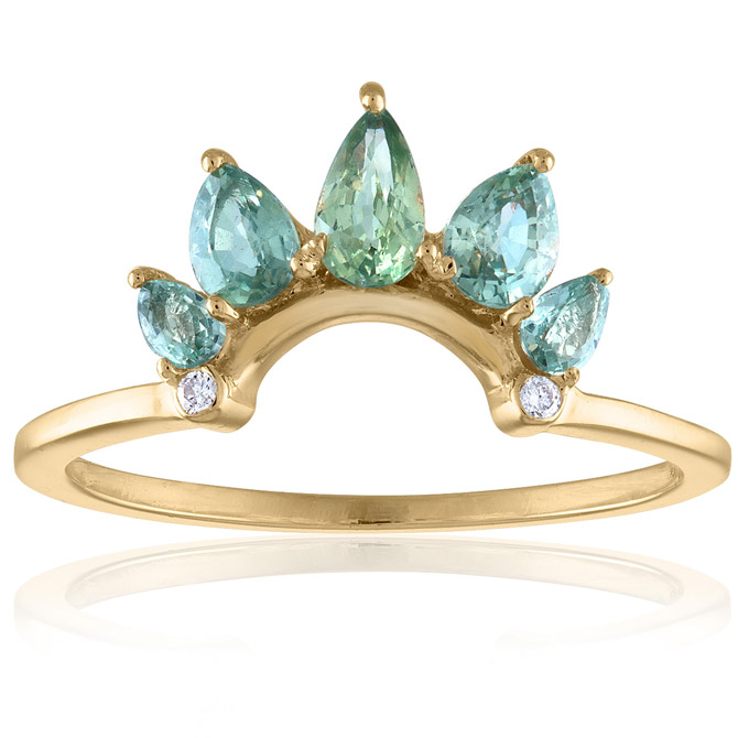 Loriann Jewelry Crown ring