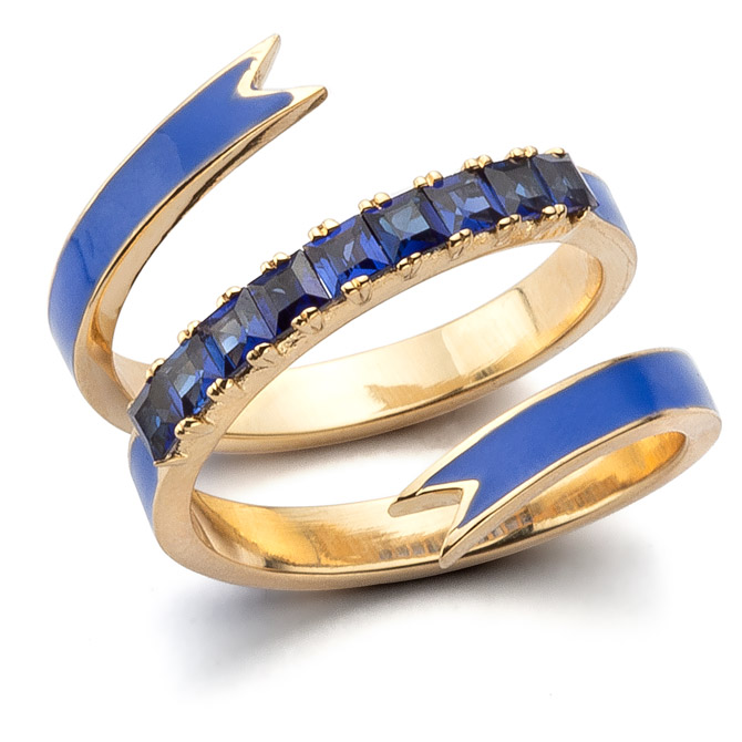 Nora Kogan Ribbon ring
