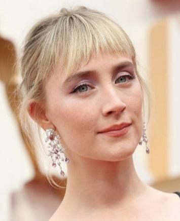 Saorsie Ronan Gucci earrings