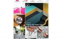 Instagram explore screen