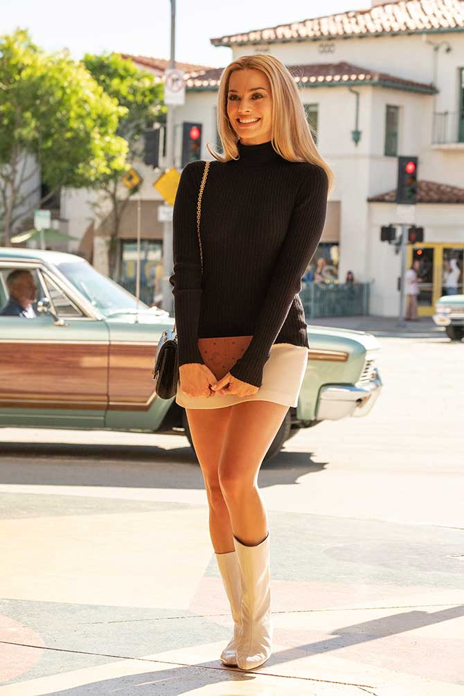 once upon a time in hollywood Margot Robbie still
