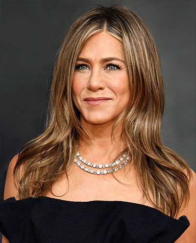 Aniston at 2020 Globes