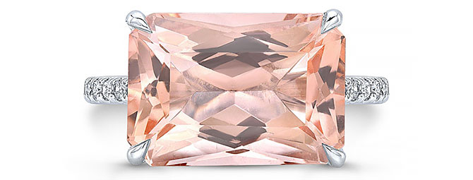 Anye designs morganite ring