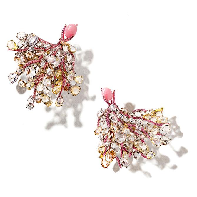 Cindy Chao Cameron Falls earrings